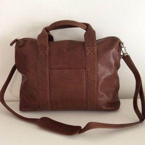 😎🌈NWT Genuine Leather office bag unisex